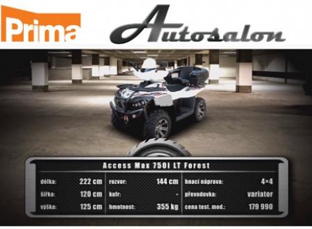 MAX 750i LT v Autosalonu