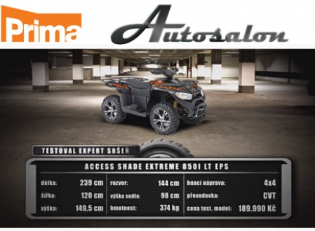 Shade 850i LT EPS in Autosalonu